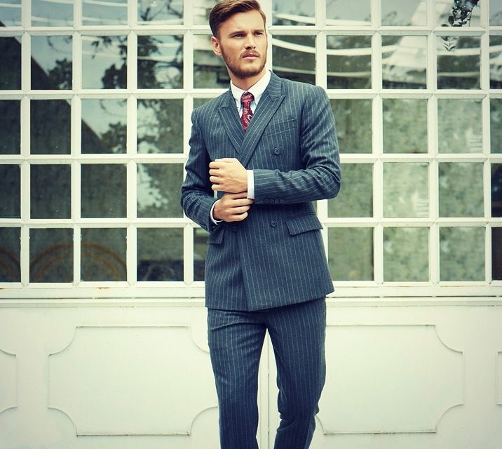 Men's Suits - iTailor Double Breasted Suit