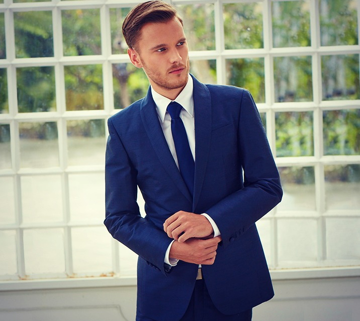 Men's Suits - Navy Blue Suit | iTailor Blog