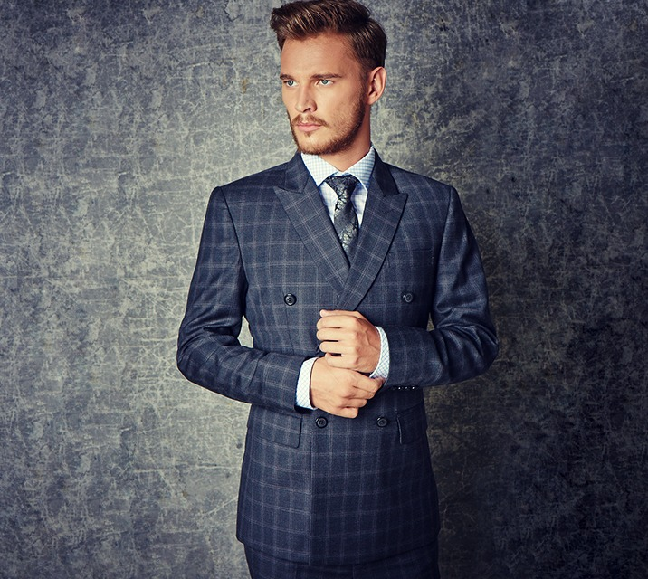 Men's Suits - iTailor Plaid Suit