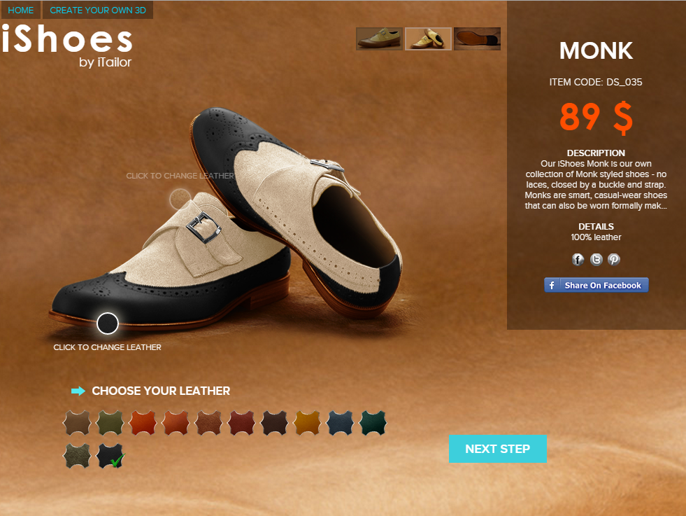 custom made shoes - suede leather monk straps