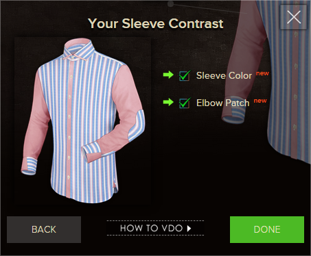 Custom Shirts Pro - Sleeves