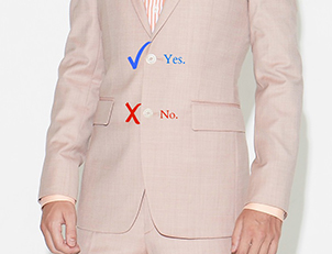 How Not To Button A Suit