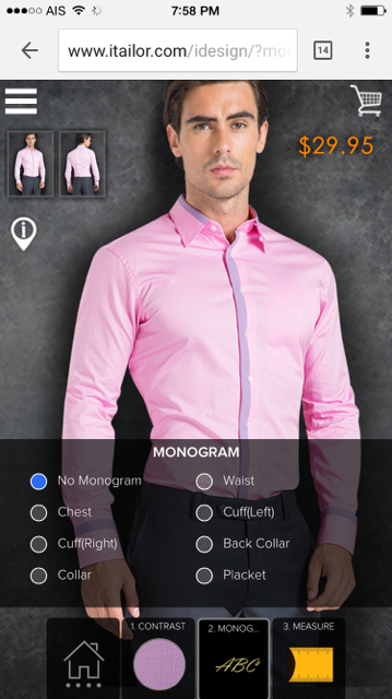 iTailor Collection - Custom Dress Shirts