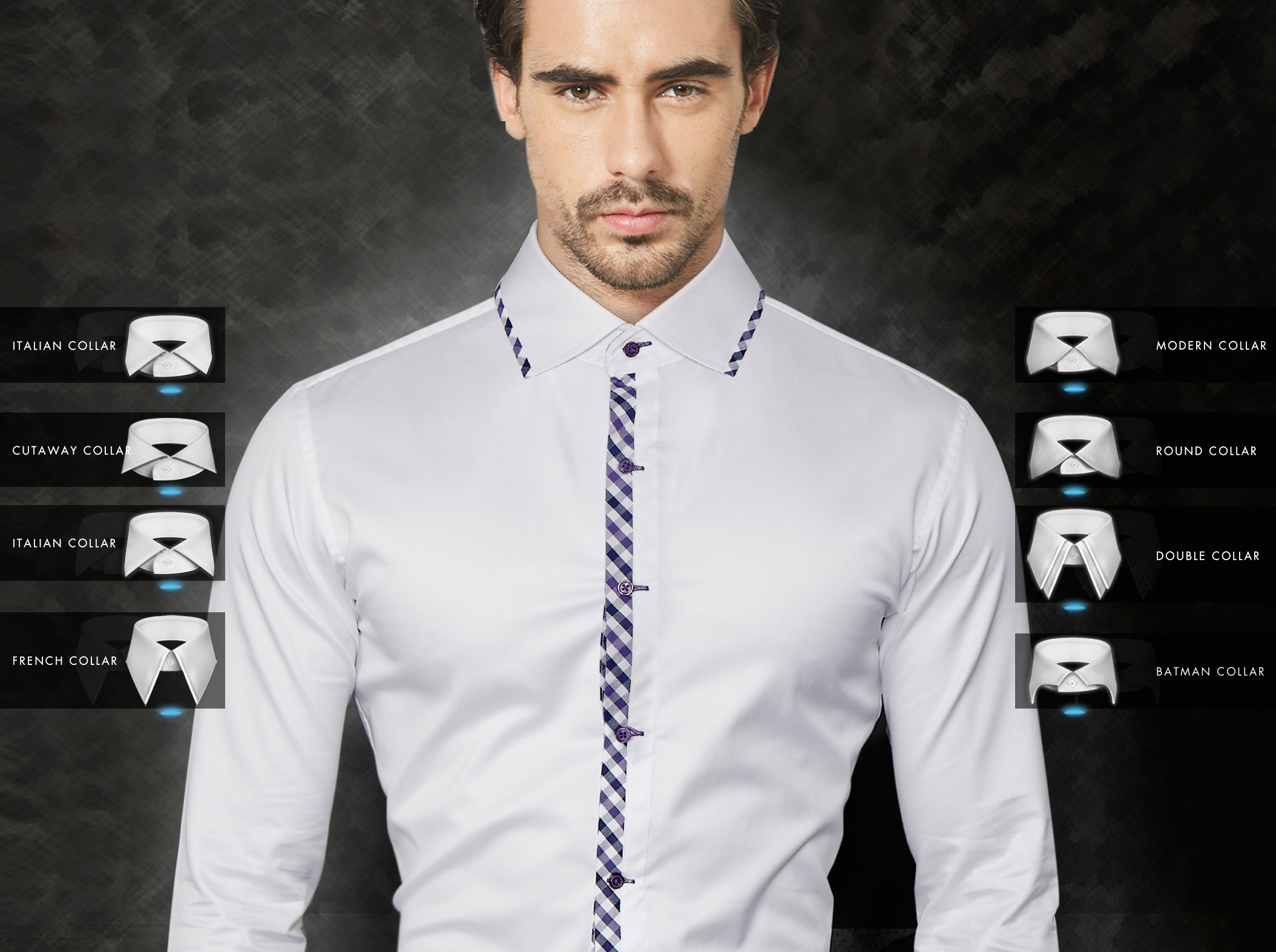 Collar Styles How To Choose A Shirt Collar Itailor Blog
