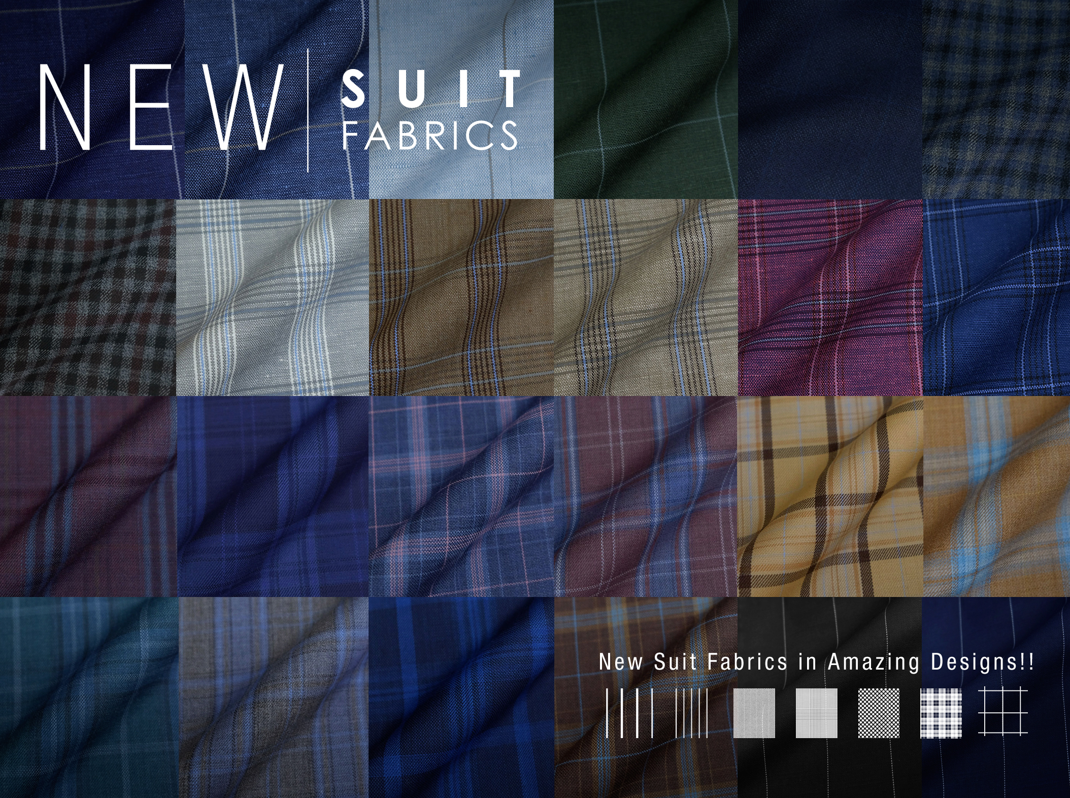 Men's Suit Patterns – Top 10 Suit Patterns Pt. 1