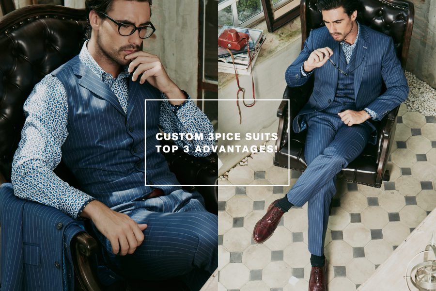 Three Piece Suits – Top 3 Advantages!