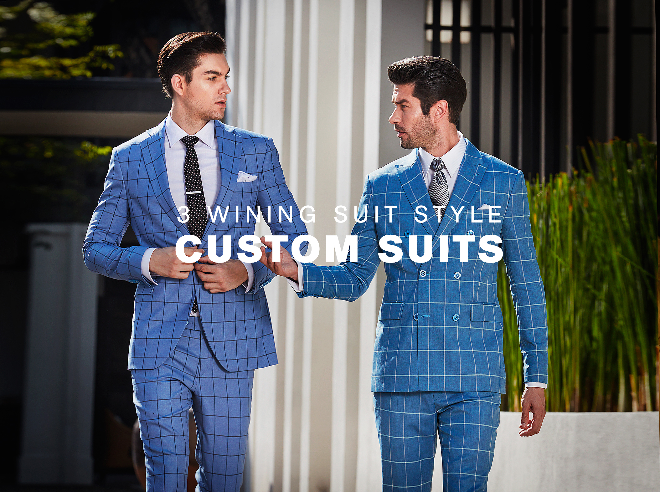 3 Winning Suit Styles for Fall 2016