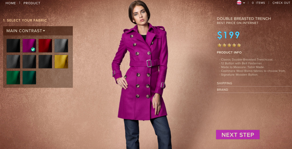 Double Trenched Coat