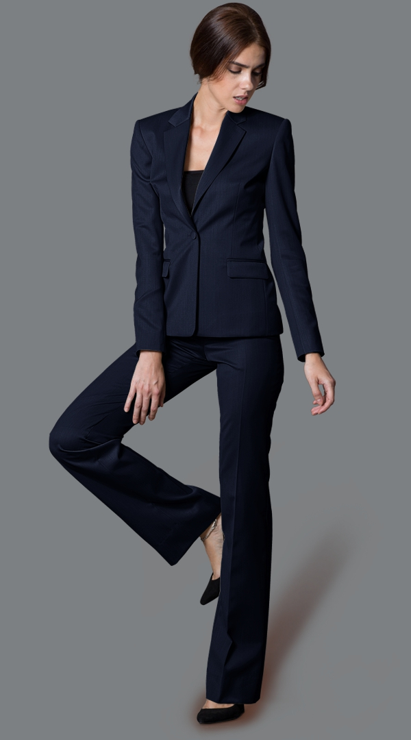 Pinstripe Womens Suit