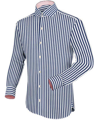 Made To Measure Shirts with Italian Collar 2 Button
