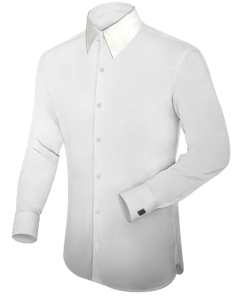 Fitted Shirts Tailor Orange County with English Collar