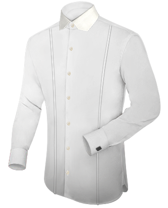 Mens Shirts with Modern Collar