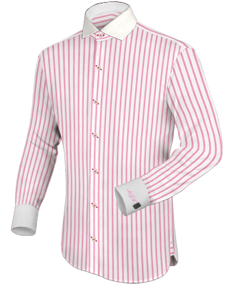 Youth Dress Shirts with Italian Collar 1 Button