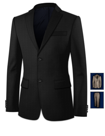 Made To Measure Suits Bolton with 2 Buttons, Single Breasted