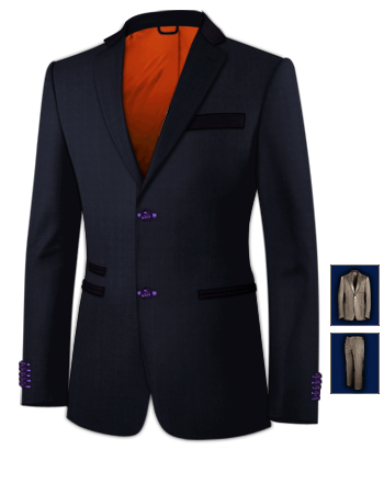 Cheap Grooms Suits Uk For Under 100 Pounds with 2 Buttons, Single Breasted