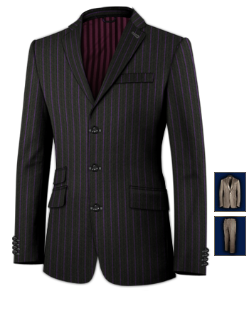 Mens Suits Best with 3 Buttons, Single Breasted
