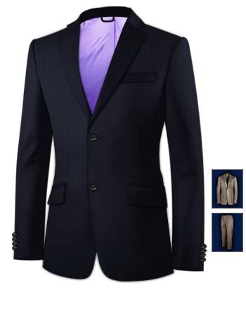 Suit Tailors Peterborough Uk with 2 Buttons, Single Breasted