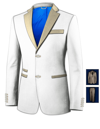 Cheap Bespoke Suit Makers with 2 Buttons, Single Breasted