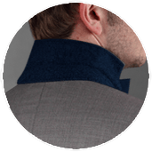 Back Collar Contrast